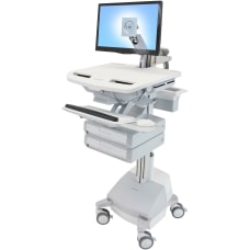 Ergotron StyleView Cart with LCD Arm