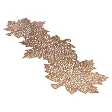 Amscan Metallic Leaf Table Runner 14