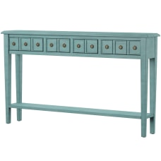 Powell Southam 4 Drawer Long Console