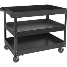 Lorell 3 shelf Utility Cart 3