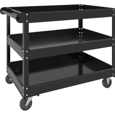 Lorell 3 shelf Utility Cart 3