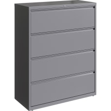 Lorell 42 W Lateral 4 Drawer