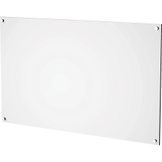 Lorell White Acrylic Dry erase Board