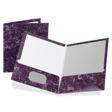 Oxford Marble Twin Pocket Portfolios Deep