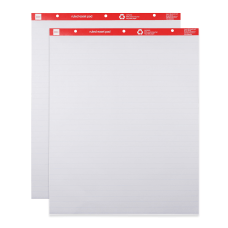 Office Depot Brand Ruled Easel Pads