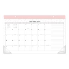 Cambridge WorkStyle Monthly Desk Pad Calendar