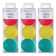 MindWare Sensory Genius Stress Balls GreenYellowPink