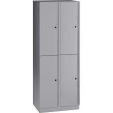 Lorell Trace Quad Locker 1 Shelves
