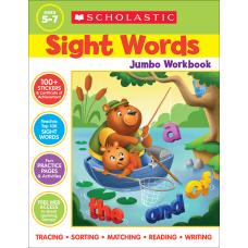 Scholastic Sight Words Jumbo Workbook Kindergarten