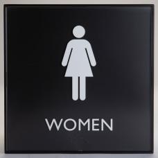 Lorell Restroom Sign 1 Each Women