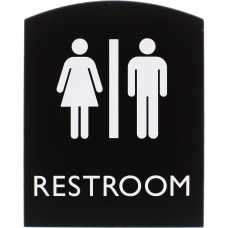 Lorell Restroom Sign 1 Each 68