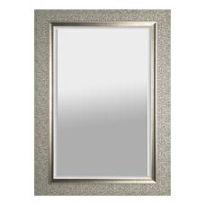 Lorell Mosaic Border Rectangular Hanging Mirror