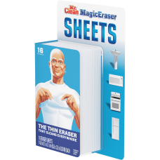 Mr Clean Magic Eraser Sheets Unscented