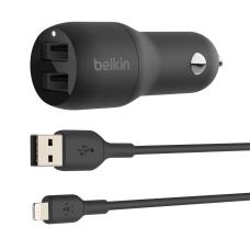 Belkin 24W Dual USB A Car