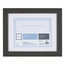 Realspace Wyeth Document Frame Dark Gray