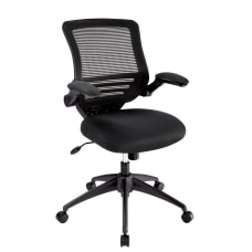 Realspace Calusa Mesh Managerial Mid Back