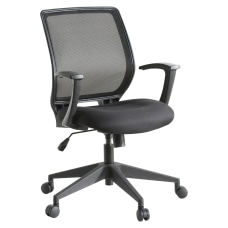 Lorell Mesh Mid Back Office Chair