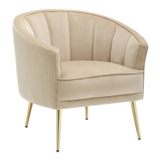 LumiSource Tania Accent Chair GoldChampagne