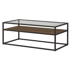Bush Furniture Anthropology Glass Top Coffee