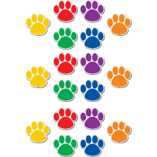 Teacher Created Resources Paw Prints Magnetic