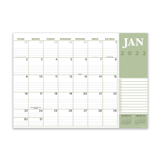 TF Publishing Medium Monthly Desk Pad
