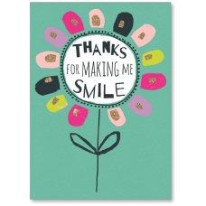 Viabella Thank You Greeting Card Thanks