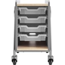 Safco Whiffle 4 Drawer Mobile Storage
