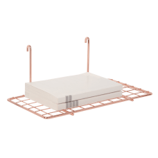 Realspace Rose Gold Wire Hanging Organizer