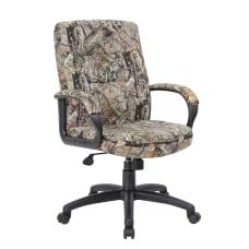 Boss Office Products Mossy Oak Ergonomic