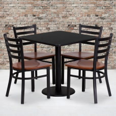 Flash Furniture Square Table And 4