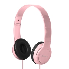 BYTECH On Ear Headphones Pink BYAUOH143PK