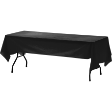Genuine Joe Plastic Table Covers 108