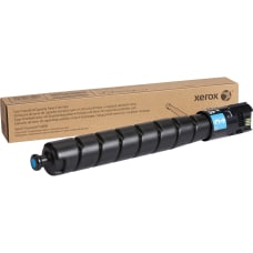 Xerox Cyan original toner cartridge for