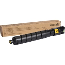 Xerox Yellow original toner cartridge for