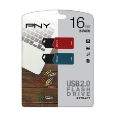 PNY Retractable USB 20 Flash Drives