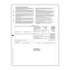 ComplyRight 1098 Tax Forms Z Fold