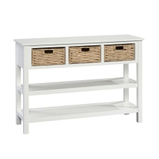 Sauder Cottage Road Console Table With