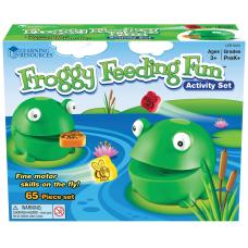 Learning Resources Froggy Feeding Fun Set