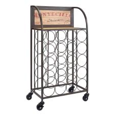 Linon Rhonda Wine Rack 31 14