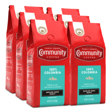 Community Coffee Arabica Ground Coffee Colombia
