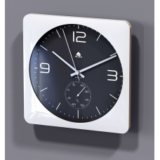 Alba Duo Silent Square Clock With
