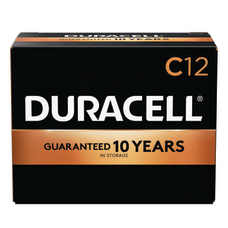 Duracell Coppertop Alkaline C Batteries Box