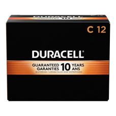 Duracell Coppertop C Alkaline Batteries Box