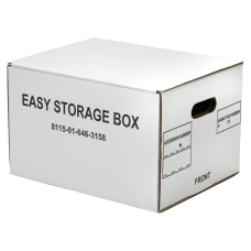 SKILCRAFT Easy Storage Boxes With Lift