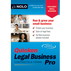Quicken Legal Business Pro Disc