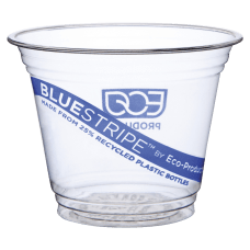 Eco Products BlueStripe Recycled PET Cold