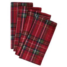 Amscan Christmas Plaid 3 Ply Fabric