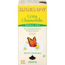 Bigelow Cozy Chamomile Tea Bags Box
