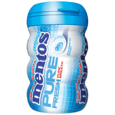 Mentos Pure Fresh Mint Gum Bottles