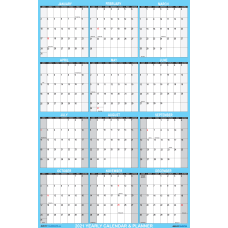 SwiftGlimpse Large Foldable Wall Calendar 18